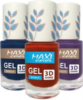 Maxi color - gel lacquer (Gel effect New palette)