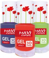 Maxi color - gel nails (Maxi color Gel effect Hot summer)