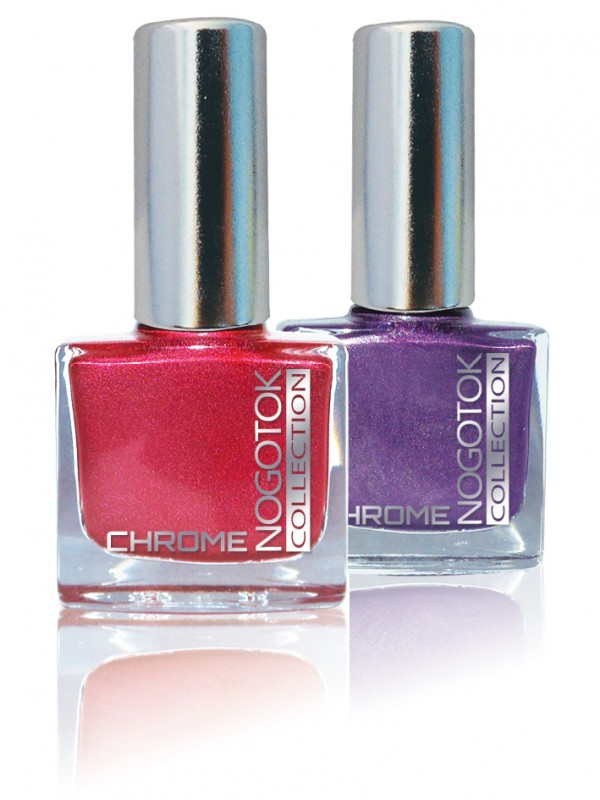 NOGOTOK - chromic effect nail polish (Nogotok Chrome)