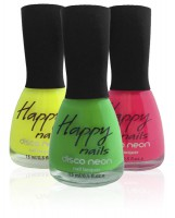 Happy nails - neon nail lacquer (Happy nails Disco neon)