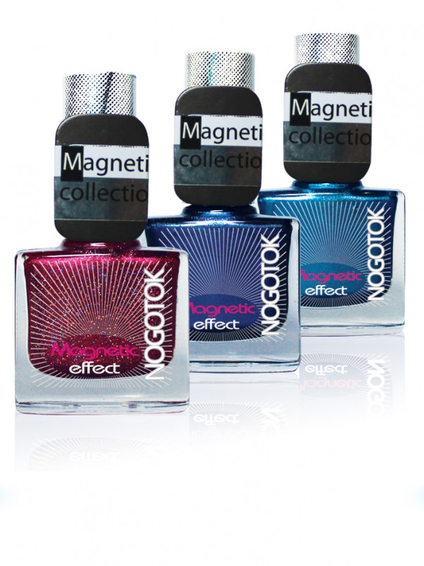 NOGOTOK - magnetic nail lacquer  (Nogotok Magnetic effect)