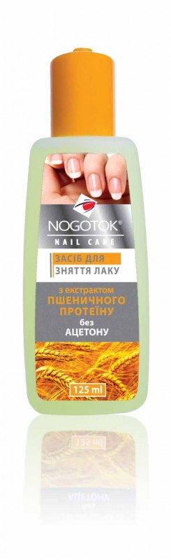 NOGOTOK - varnish remover Nail care Wheaten protein extract