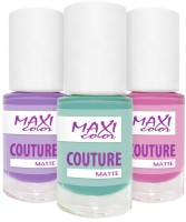 Maxi color - matte nails (Maxi Color Couture matte)