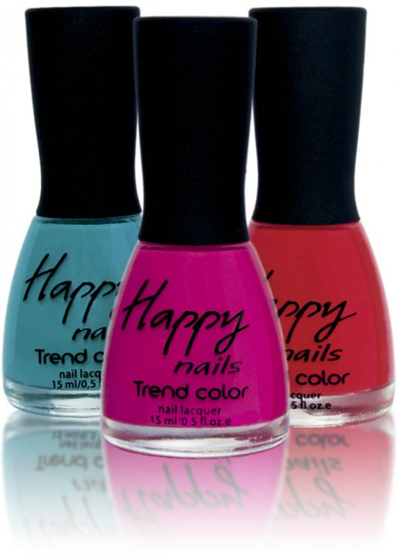 Happy nails - main series nail polish 15ml (Happy nails Trend Color)