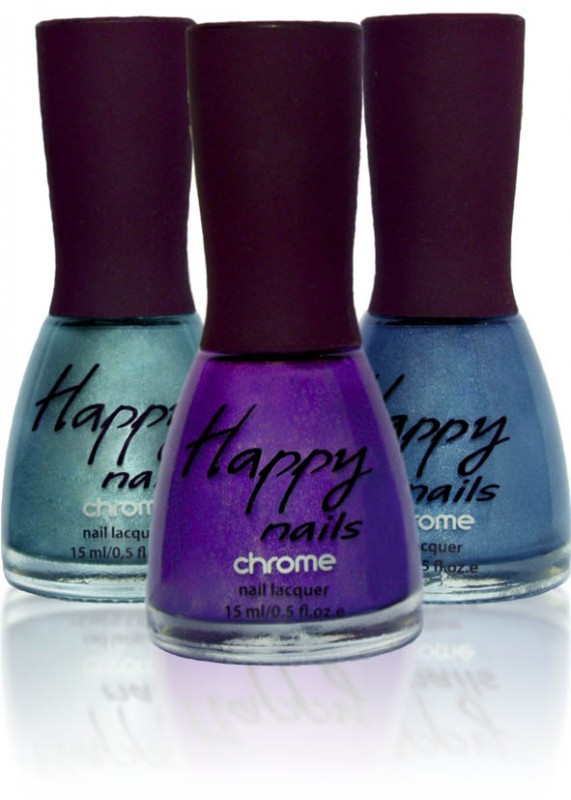 Happy nails - хромовые ногти (Happy nails Chrome)