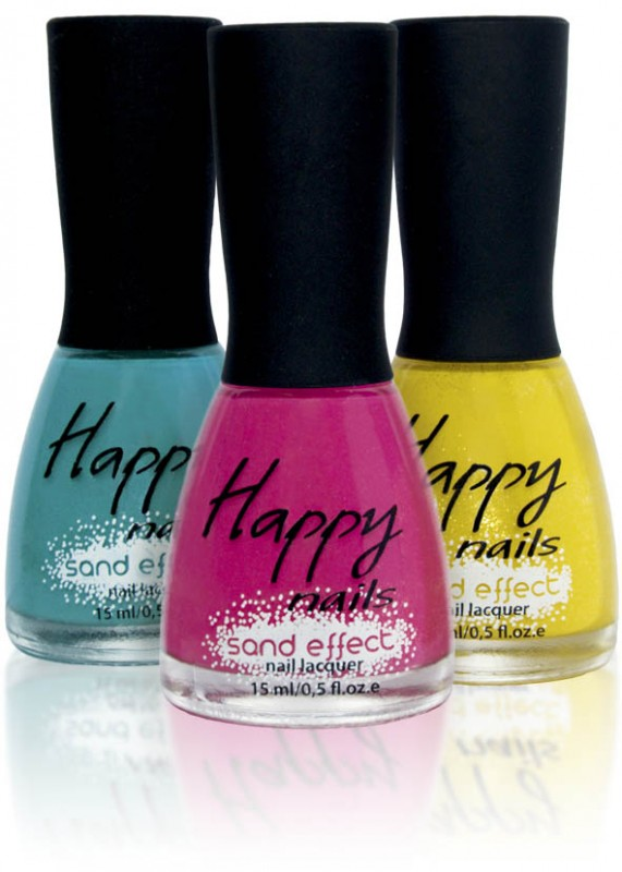 Happy nails - песочный лак (Happy nails Sand Effect)